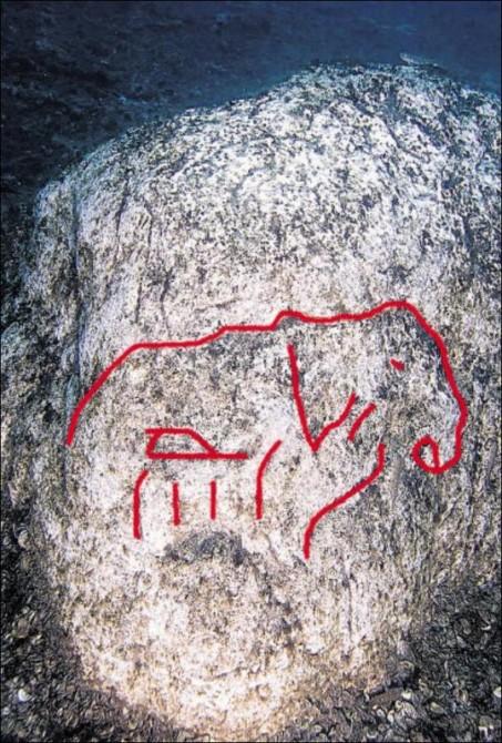 Ocean Mysteries - lake michugan stonehenge mastodon
