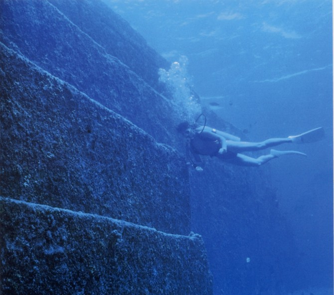 Ocean Mysteries - yonaguni 2