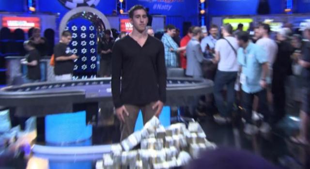 Poker Player Weirdest Reaction Ever