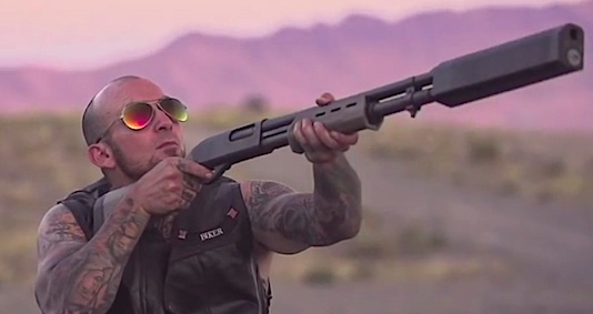 Shotgun Silenced Rapid Fire Johnny Dronehunter