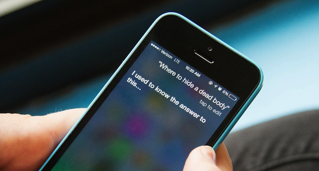 Siri Where Can I Hide A Dead Body