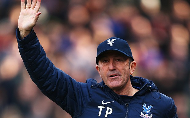 Tony Pulis Crystal Palace