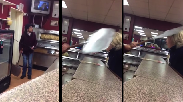 Woman Hits Girl Takeaway Argument