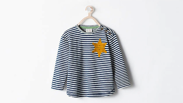 Zara Pulls Holocaust Kids' T Shirt