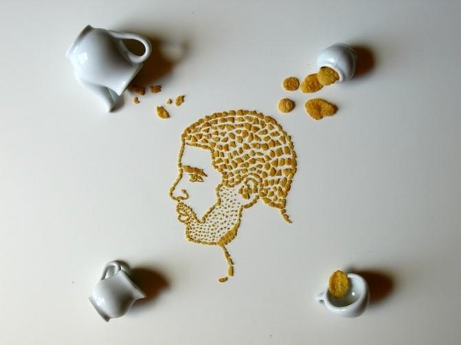 Sarah Rosado - Cornflakes Faces
