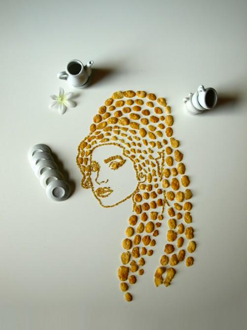 Sarah Rosado - Cornflakes Facesa