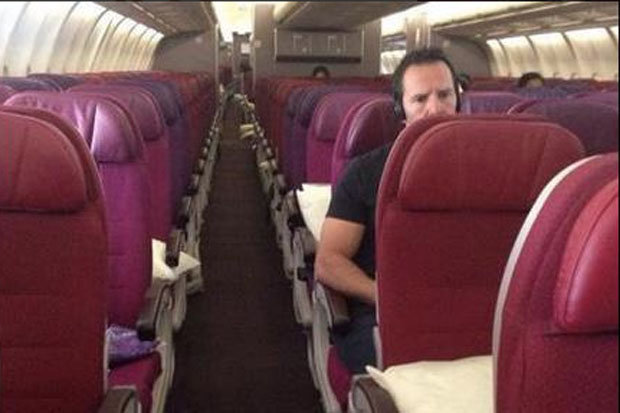 malaysia airlines empty cabins