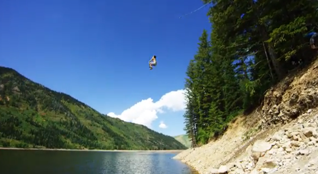 50 Foot Rope Swing