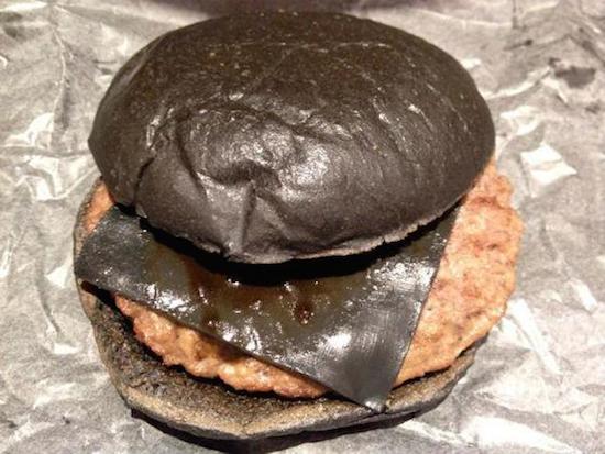 All Black Burger 1