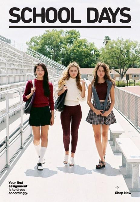 American Apparel School Days 1
