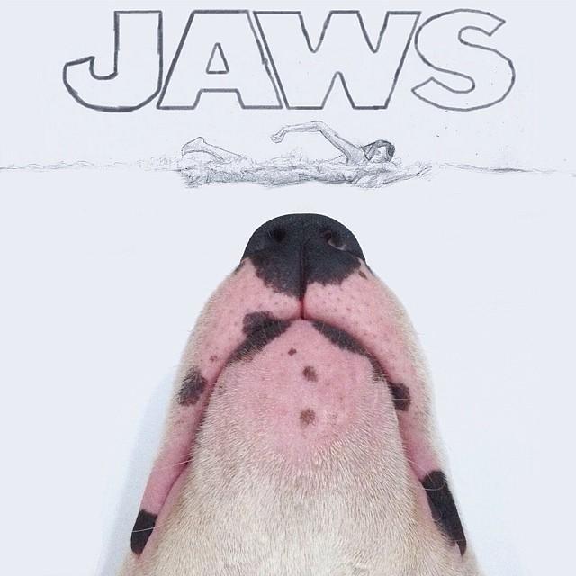 Bull Terrier Cute Illustrations 1