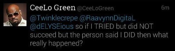 CeeLo Green Rape Tweet 4
