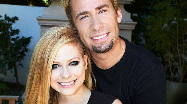 Chad Kroeger avril Lavigine