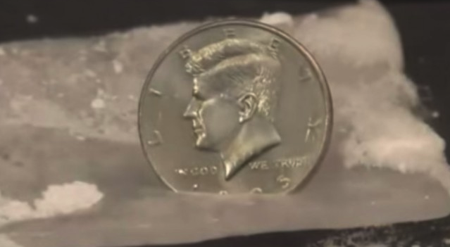 Dry Ice Block Coin