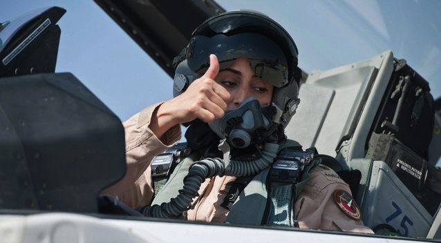 First Female UAE Pilot