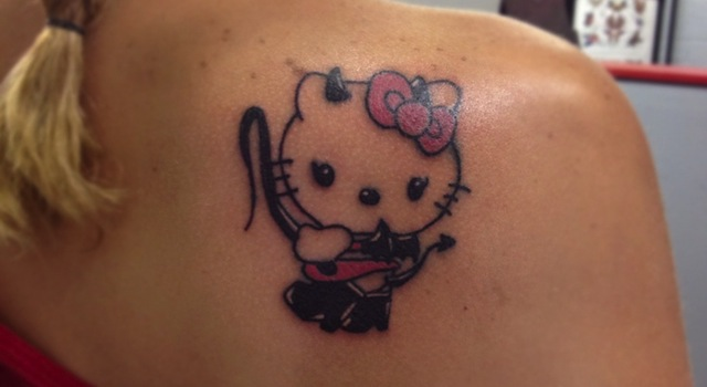 Hello Kitty Bondage