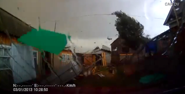 Hurricane Russian Dash Cam