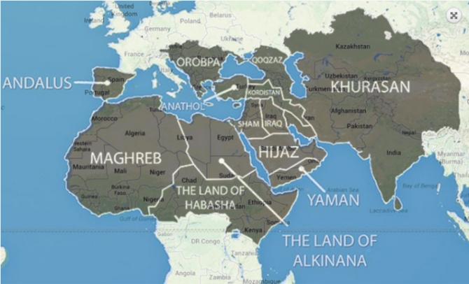 Islamic State Masterplan