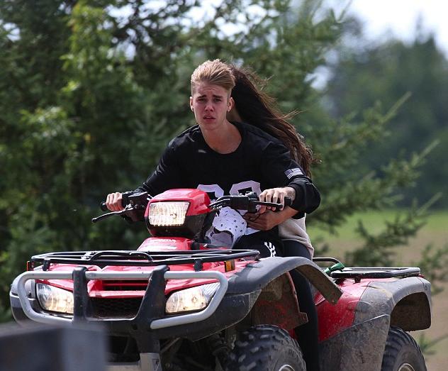 Justin Bieber ATV