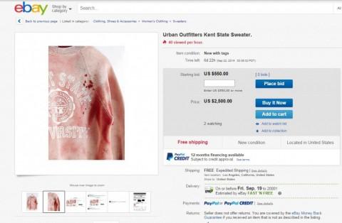 Kent State Sweater eBay