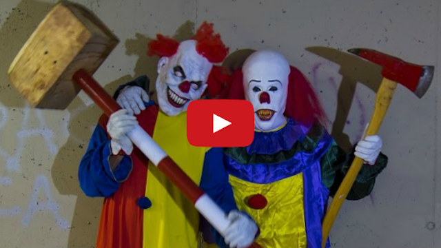 Killer Clown Prank With Friend
