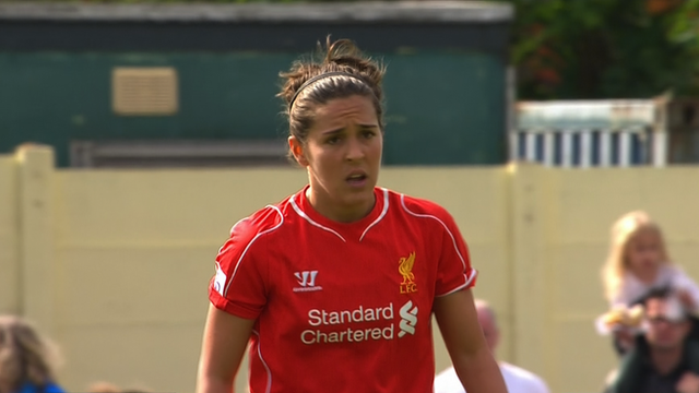 Liverpool Ladies Goal From Kick Off