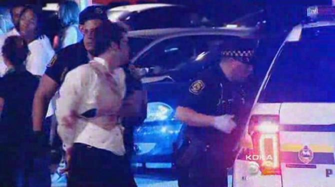 Man Arrested Wedding