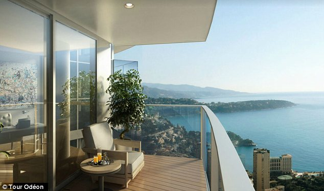 Most Expensive Apartment In The World - balcony view