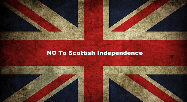 NO To Scottish Independence