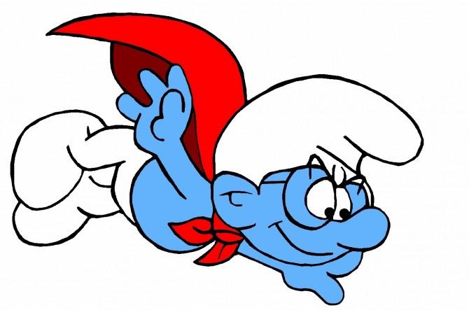 Scotish Independence Vote No - Smurf