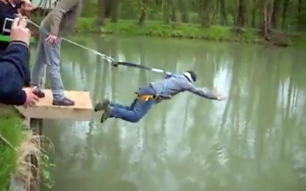 Stag Do Prank Epic - Kokovtsov Bungee Jump Viral