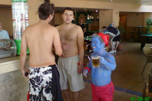 Stag Do Prank Epic - smurf