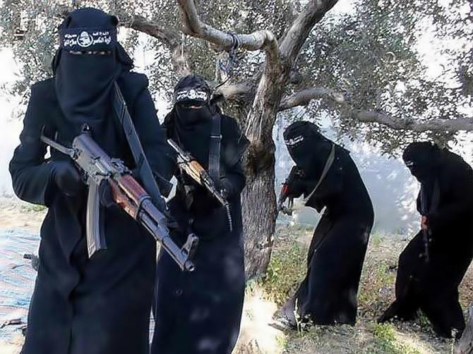 Syria - al-Khansaa's brigade