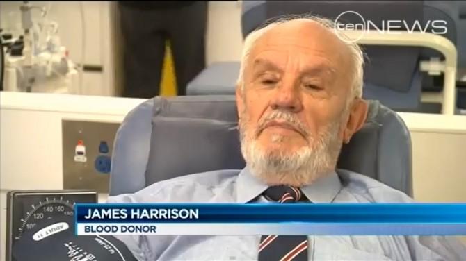 TIL Reddit - James Harrison blood donor