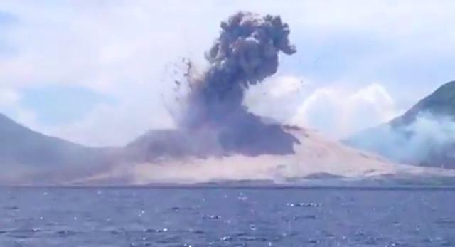 Tavurvur Eruption