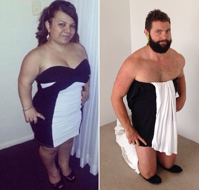 Tinder Pictures recreated 14