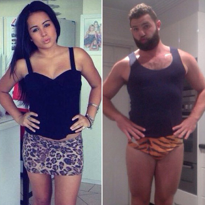 Tinder Pictures recreated 4