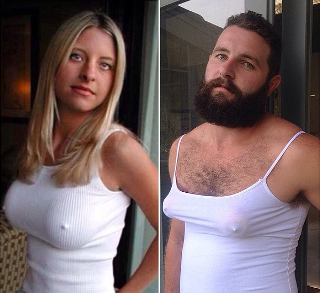 Tinder Pictures recreated 5