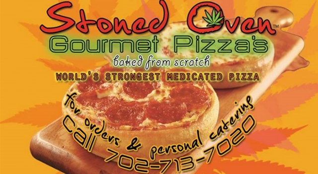 Weed Cannabis Pizza - Stoned oven