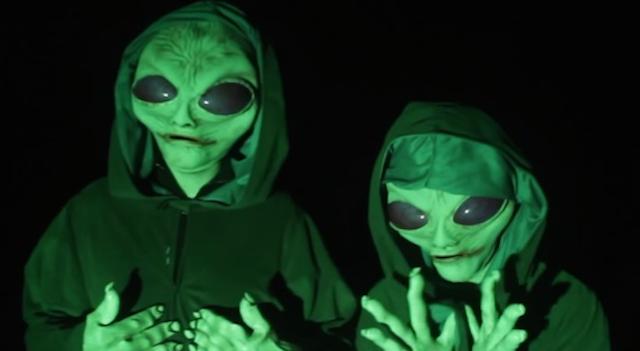 Alien Prank