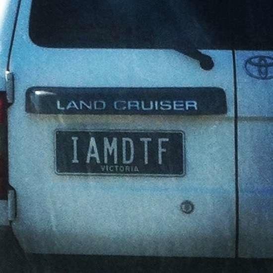 Australian Number Plates 13