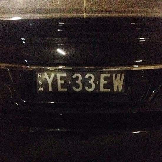 Australian Number Plates 17