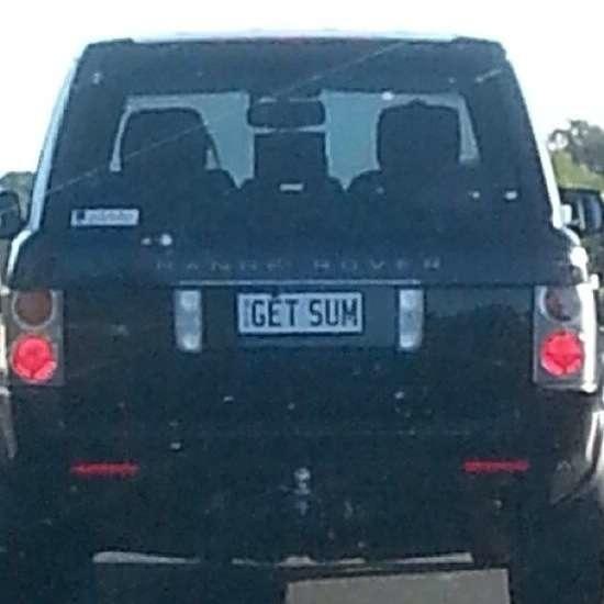 Australian Number Plates 18
