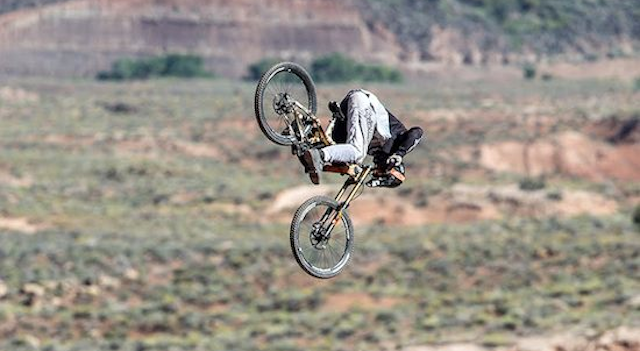 Biggest Front Flip Mountain biking