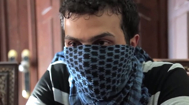 Captured ISIS Fighter