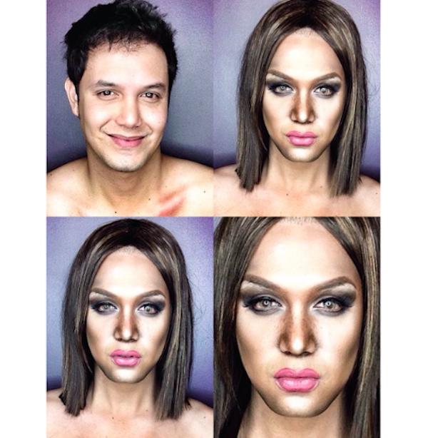 Celebrity Makeup Transformations 1