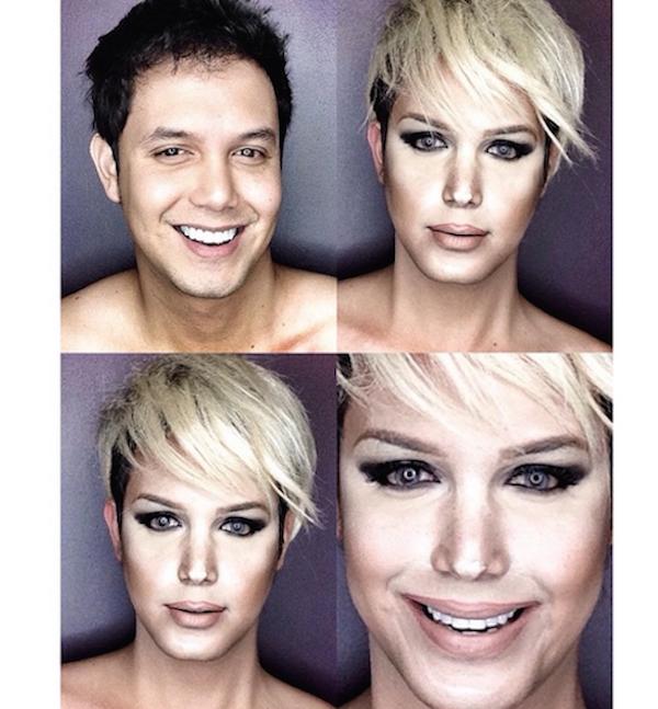 Celebrity Makeup Transformations 10