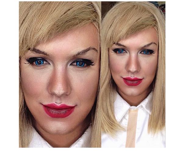 Celebrity Makeup Transformations 11
