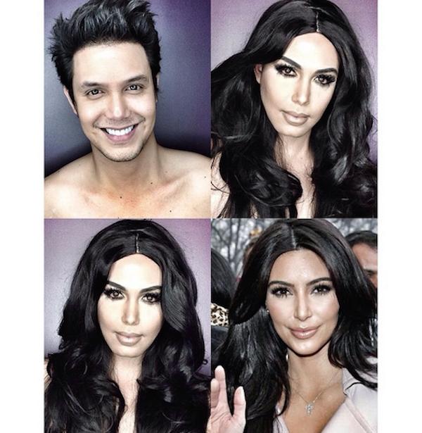 Celebrity Makeup Transformations 2