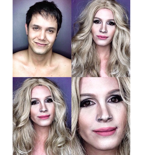 Celebrity Makeup Transformations 5